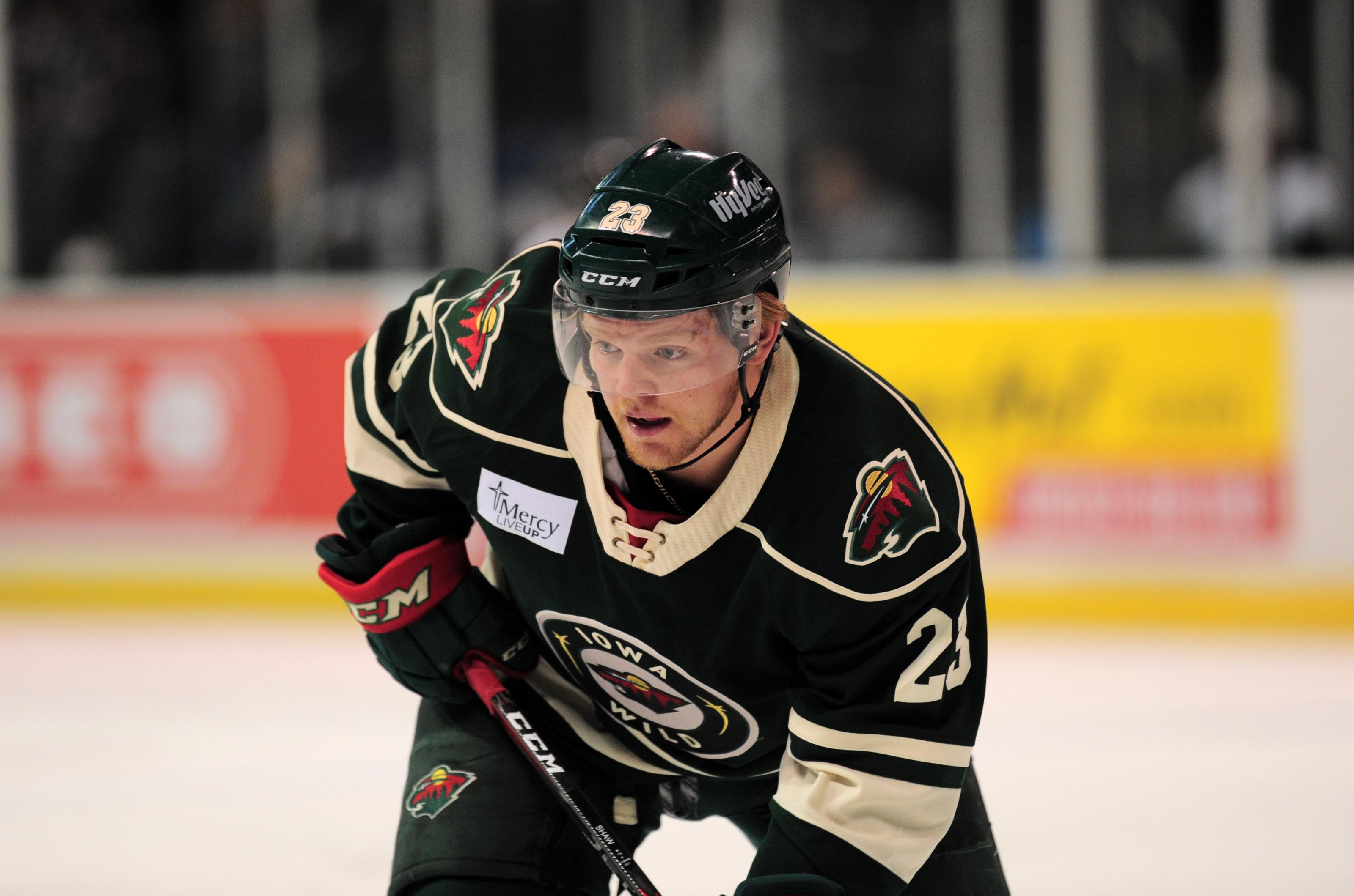 AHL: Minnesota Wild - Mason Shaw On A Tear With The Iowa Wild